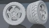 dxf murcielago wheels