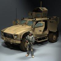 maya 4x4 jltv army