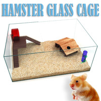 hamster glass cage 3ds