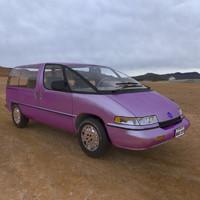 3d model family minivan