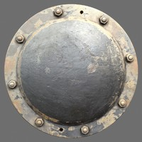 riveted metal 1b 3d c4d