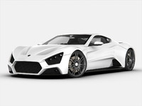 3d model zenvo car