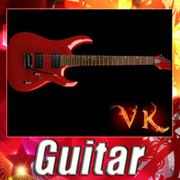 3d model electric guitar -
