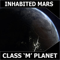 mars inhabited 3d max