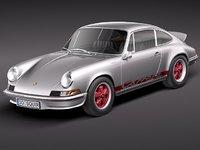 3ds max porsche 1973 911