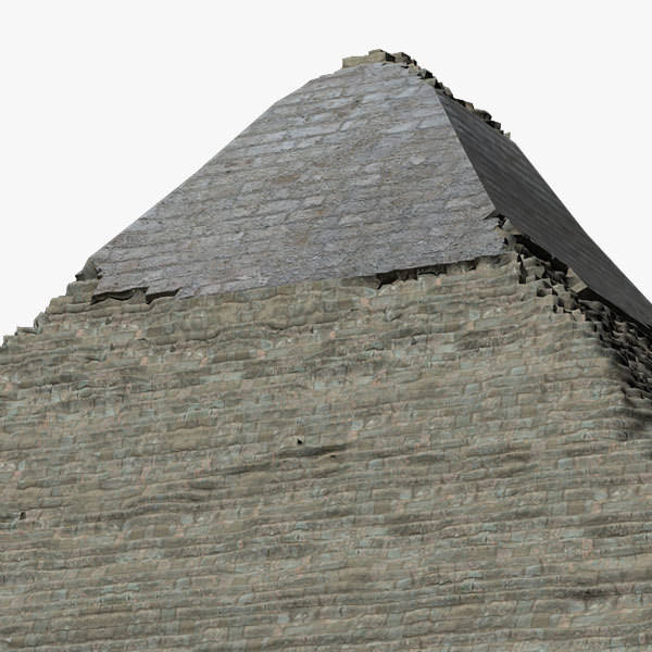 pyramid khafre 3d model - Pyramid of Khafre... by DougWalters