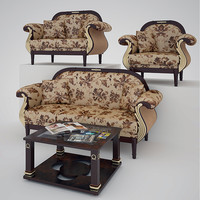 sofa armchairs 3ds