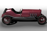 3ds max vintage targaflorio 1924