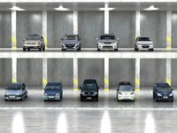 9 Low Ploy Mini-vans