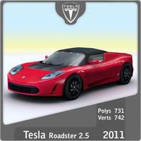 maya 2011 tesla roadster 2