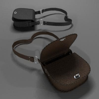 bag 3d model - bag... by German Lagna