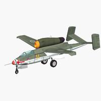 3d model heinkel 162 volksjäger