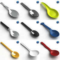 teaspoon spoon tea 3d x