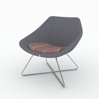 allemuir open chair 642 3d max