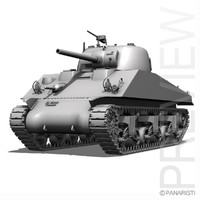 M4A2 Sherman -Medium Tank