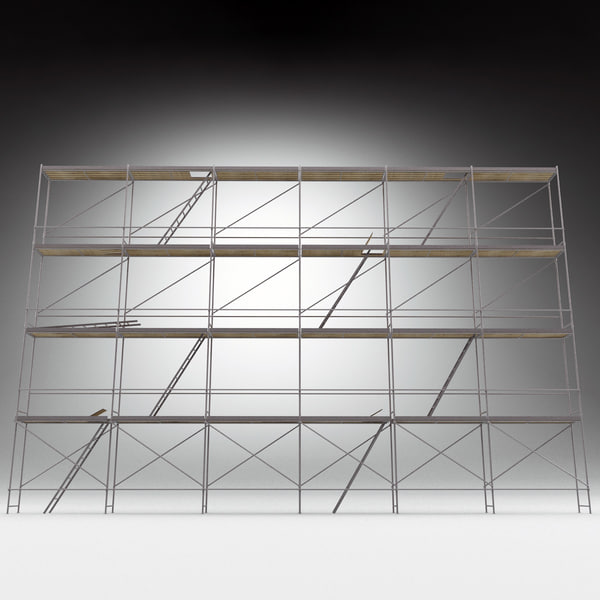 3d scaffold modelled model - Scaffold... by 3d_molier