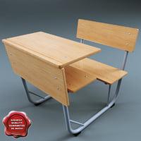 School desk V3