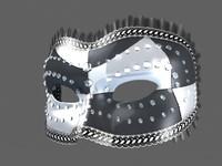 Venetian Carnival Mask 04