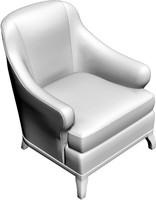 armchair 3d obj