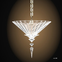 baccart mille nuits ceiling pendant suspension light lamp crystal luxury