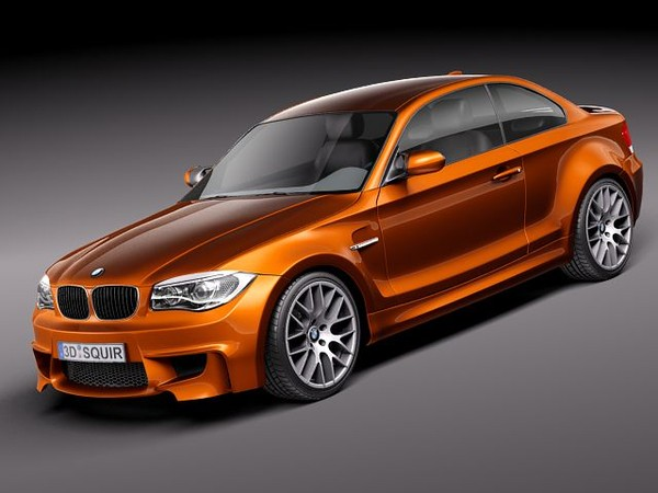 bmw 1 2011 sport 3ds - BMW 1 M coupe 2011... by squir