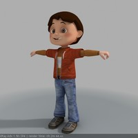3d model biped animation