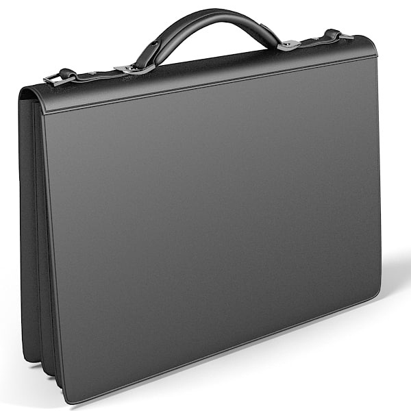 buisness man bag 3ds - buisness man bag modern briefcase portfolio... by shop3ds