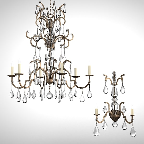 Chandelier Candle Wall Sconces : max classic luxury chandelier