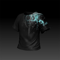 digital design tee 3d obj
