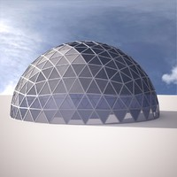 Geodesic dome 6th frequency