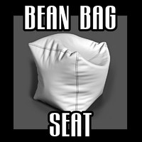 bean bag seat obj