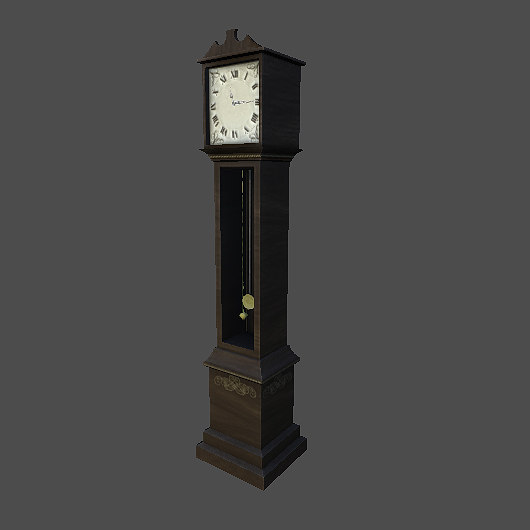 Grandfather clock game model
