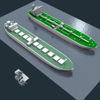 tankers 3d max