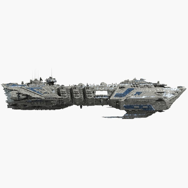 3ds max warship allied fleets destroyer - Allied Fleets Destroyer... by skynet3020