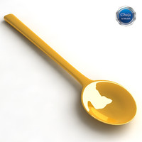 teaspoon spoon tea 3ds