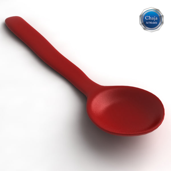 teaspoon spoon tea 3d x - Teaspoons Collection... by chaja