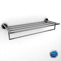 3d towel rack