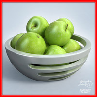 Apples in BOWL - design