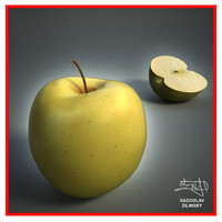 Apple fruit - yellow + BONUS