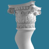 spiral column