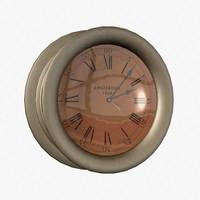 3d ship clock