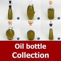 3d dxf oil bottles