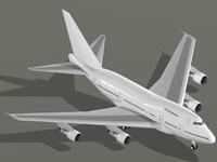 boeing 747-sp 747 sp 3d dwg