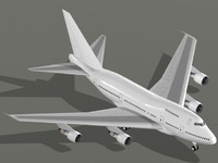 3d model boeing 747-sp 747 sp