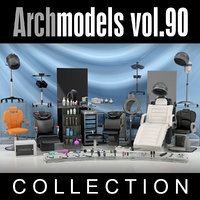 archmodels vol 90 furniture 3d 3ds
