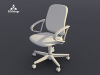 Concept One Swivel chair with basic armrests