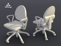 conference chair dublin 3d x