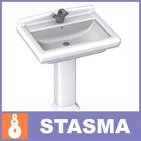 3d model wash basin