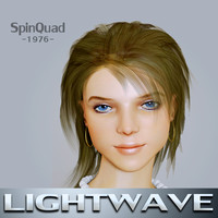 mona lightwave rigged - lwo