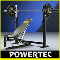 Powertec WB-OB10 Olympic power bench